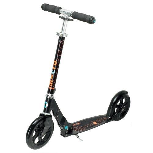 micro scooter black cityroller erwachsene. Black Bedroom Furniture Sets. Home Design Ideas